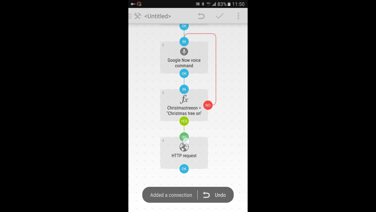 Voice control Domoticz with Android Automate