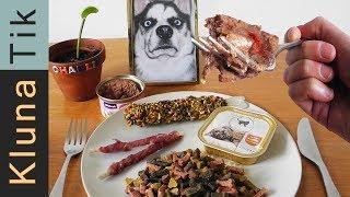 eating animal food kluna tik dinner 93   asmr eating sounds no talk