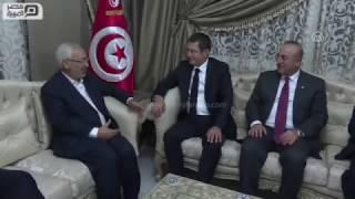 مصر العربية | الغنوشي يلتقي في تونس وفدا تركيا رفيع المستوى