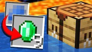 Finding a HUGE Recipe &quotGLITCH&quot... (Minecraft Recipe Randomizer Survival #3)