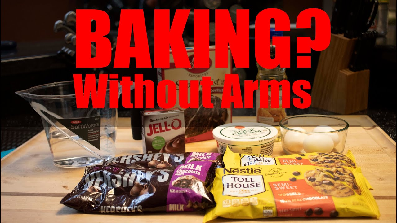 Can you baking a cake with out arms?