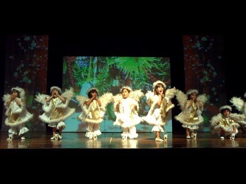 apresentação de natal educação infantil e turma de ballet do colégioapresentação de natal educação infantil e turma de ballet do colégio sion arujá 2012