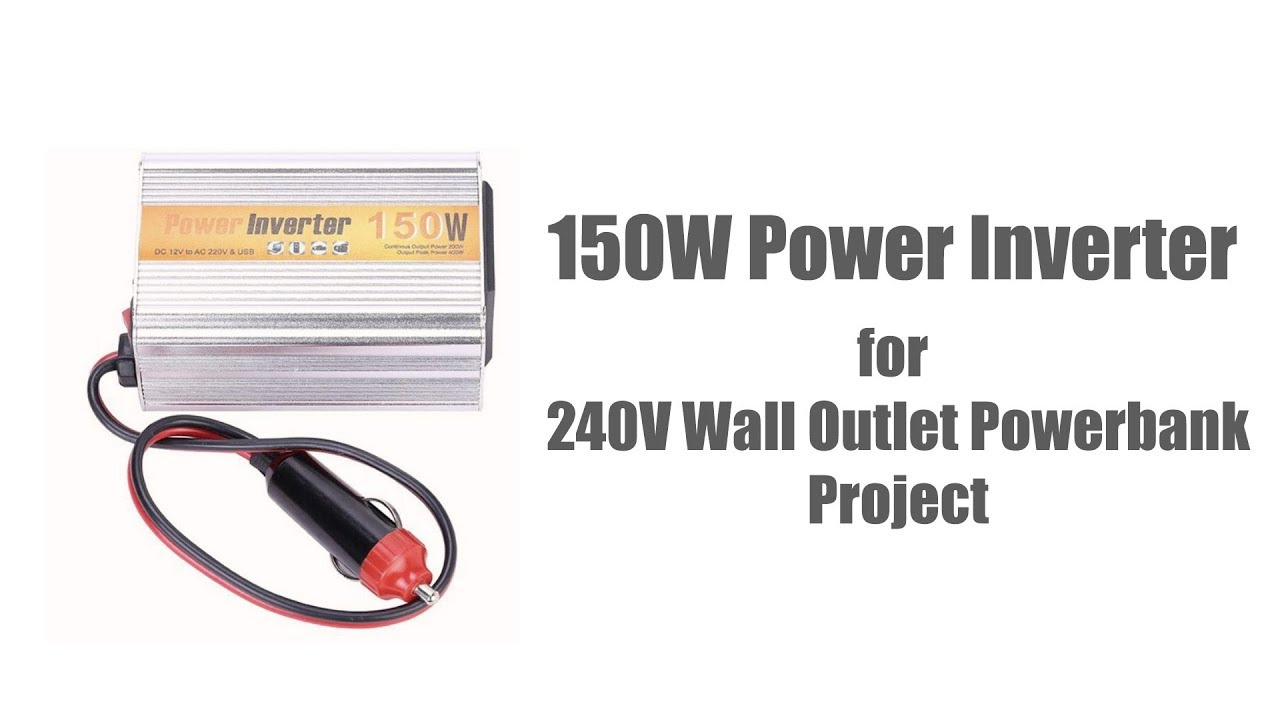 Sgr Nx1512 150w Car Power Inverter Dc 12v To Ac 220v Wall Outlet Motor Circuit 12vdc 120vac Banggood