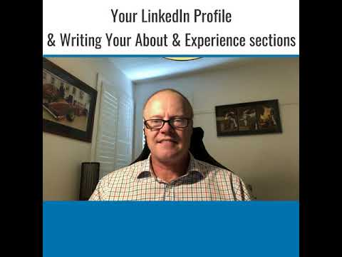 A Proven Formula to Write The About & Experience Sections of Your LinkedIn Profile.