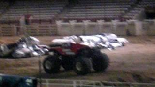 monster truck backflip cheyenne wy 6 19 09
