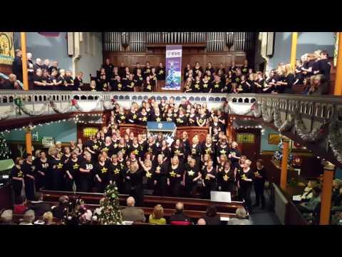 Rock Choir Northampton; Marys prayer,  Xmas 2016
