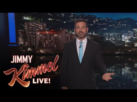 Jimmy Kimmel: Donald Trump Fired James Comey For Making Him President