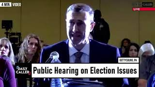 What You Missed From The PA State Senate Hearing On The Election