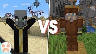 MAX RAID vs FULL LEATHER ARMOR! - Minecraft 1.14