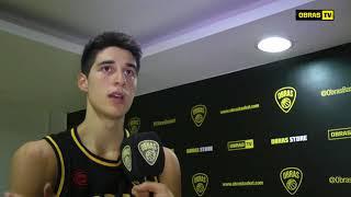 Lautaro Berra - Post Obras Basket 86 - 96 Atenas