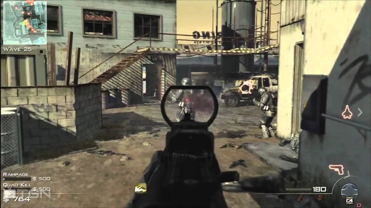 ★ Modern Warfare 3 - Survival Mode - High Waves Strategy on Carbon - WAY➚