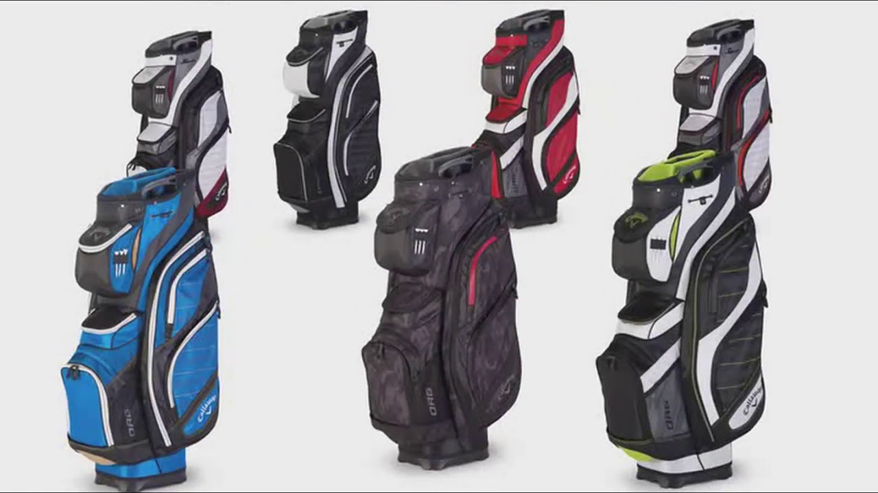 6d94b60c1af1 Callaway Org 14 Golf Cart Bag - REVIEW VIDEO - YouTube