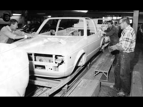 How it's made VW Golf Mk1 cabriolet-convertible. U
