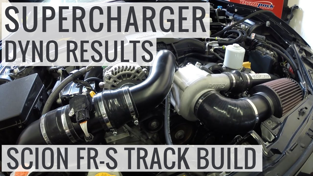Jackson Racing Supercharger Dyno Tuning and Results - Scion FR-S Track  Build - EP05