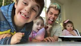 The Tooth Fairy Came! Very Cool Surprises! And Fun At Tennis!!! | Perez Hilton And Family