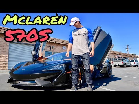 Buying A Mclaren 570S Cash At 23 | Ricky Gutierrez