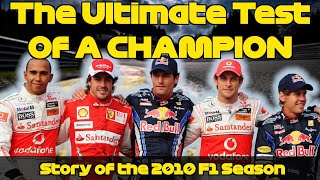 The EPIC Story Of The 2010 Formula 1 Season: Race By Race