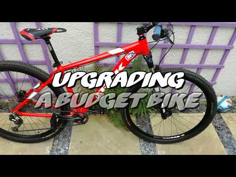 How to upgrade a budget bike (ONLY WITH 3 COMPONENTS)