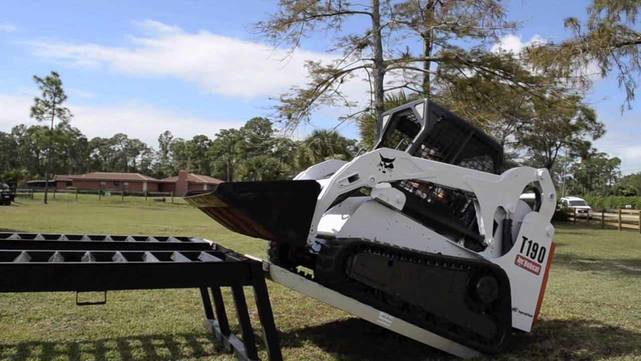 Track Loader For Sale >> 2006 Bobcat T190 skid steer for sale by Ironlink Inc West Palm Beach Florida - YouTube