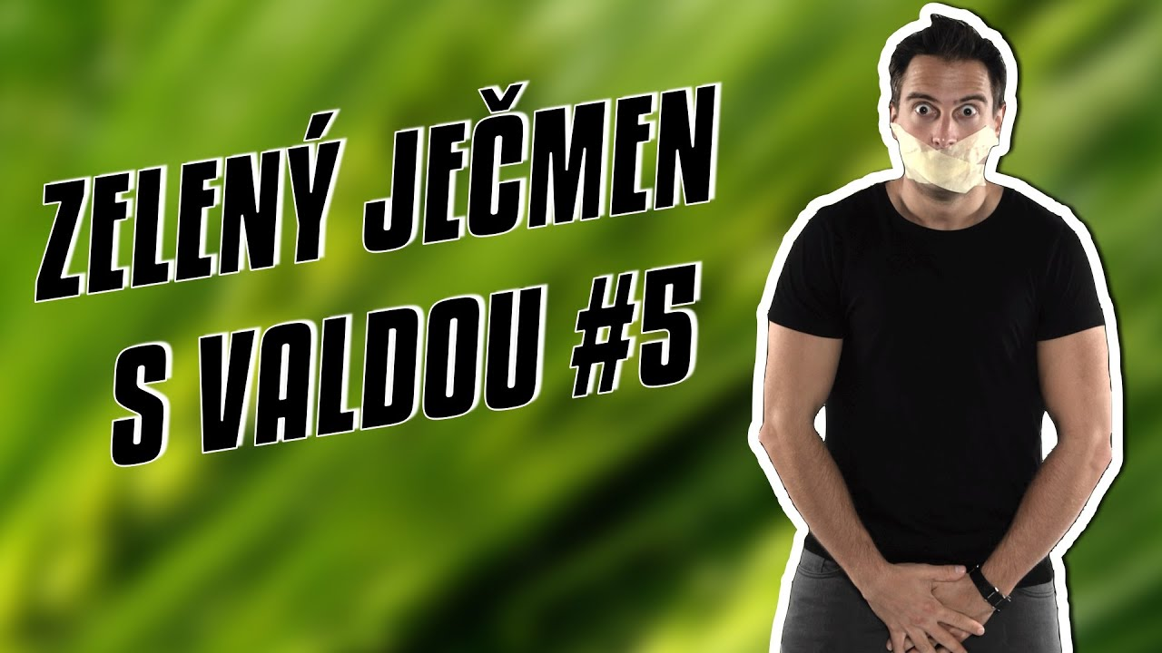 Zelený ječmen s Valdou #5 | Valda Productions | Hemeroidy | YouTube Strike | Utubering 2016