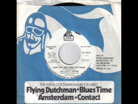 Gil Scott Heron Lady day & John Coltrane