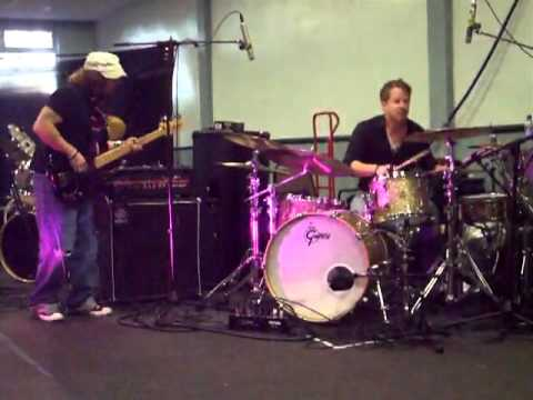 Karl Brazil and Ray Loverock jamming @ The Jobeky drum clinic