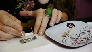 How to Replace a Crystal in Earrings : Earrings & Jewelry