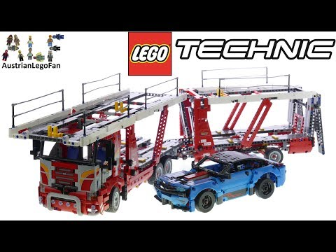 Lego Technic 42098 Car Transporter - Lego Speed Build Review