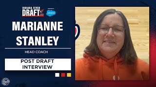Indiana Fever Head Coach Marianne Stanley Discusses 2021 WNBA Draft