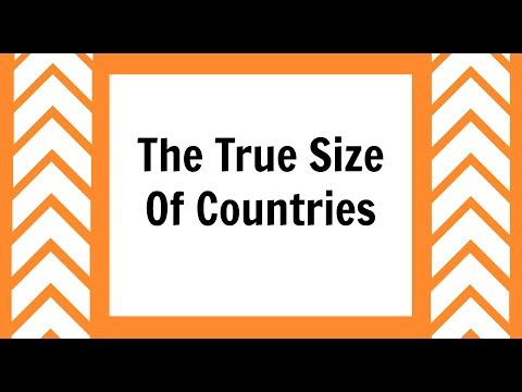 The True Size Of Countries