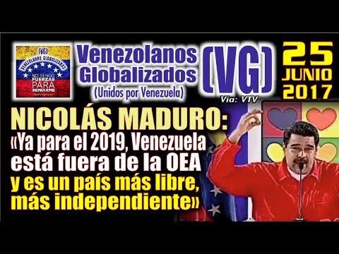 maduro ya para el 2019 venezuela est fuera de la oea