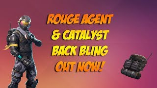 How to Get Fortnite Starter Pack Now - Rogue Agent & Catalyst Back Bling
