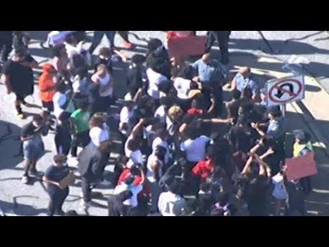 LIVE VIEW | Protests in metro Atlanta continue on Saturday afternoon