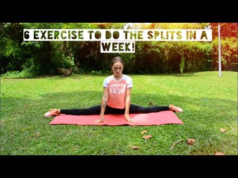 КаК сесть на ШПАГАТ за НЕДЕЛЮ? самые эффективные упражнения!