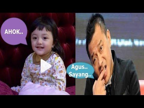 """VIDEO Anak Anang & Ashanti """" Ayah Suruh Bilang AGUS, eh Anaknya AHOK Terus…"""