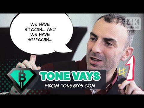 Tone Vays : Unconfiscatable Bitcoin, BTC vs Shitcoin / Altcoin (LTC, XRP, XMR, BNB & more)