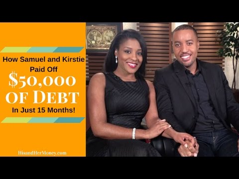 How Samuel and Kirstie Paid off $50,000 of Debt in 15 Months