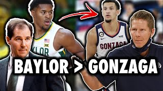Why Baylor IS BETTER THAN Gonzaga