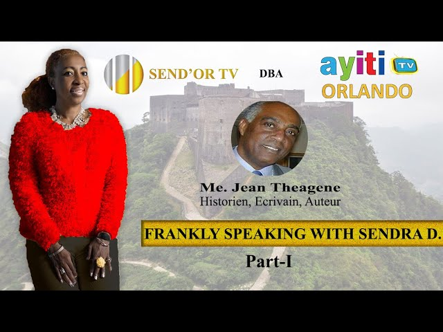 Frankly Speaking with Sendra D. Jean Theagene-Part 1