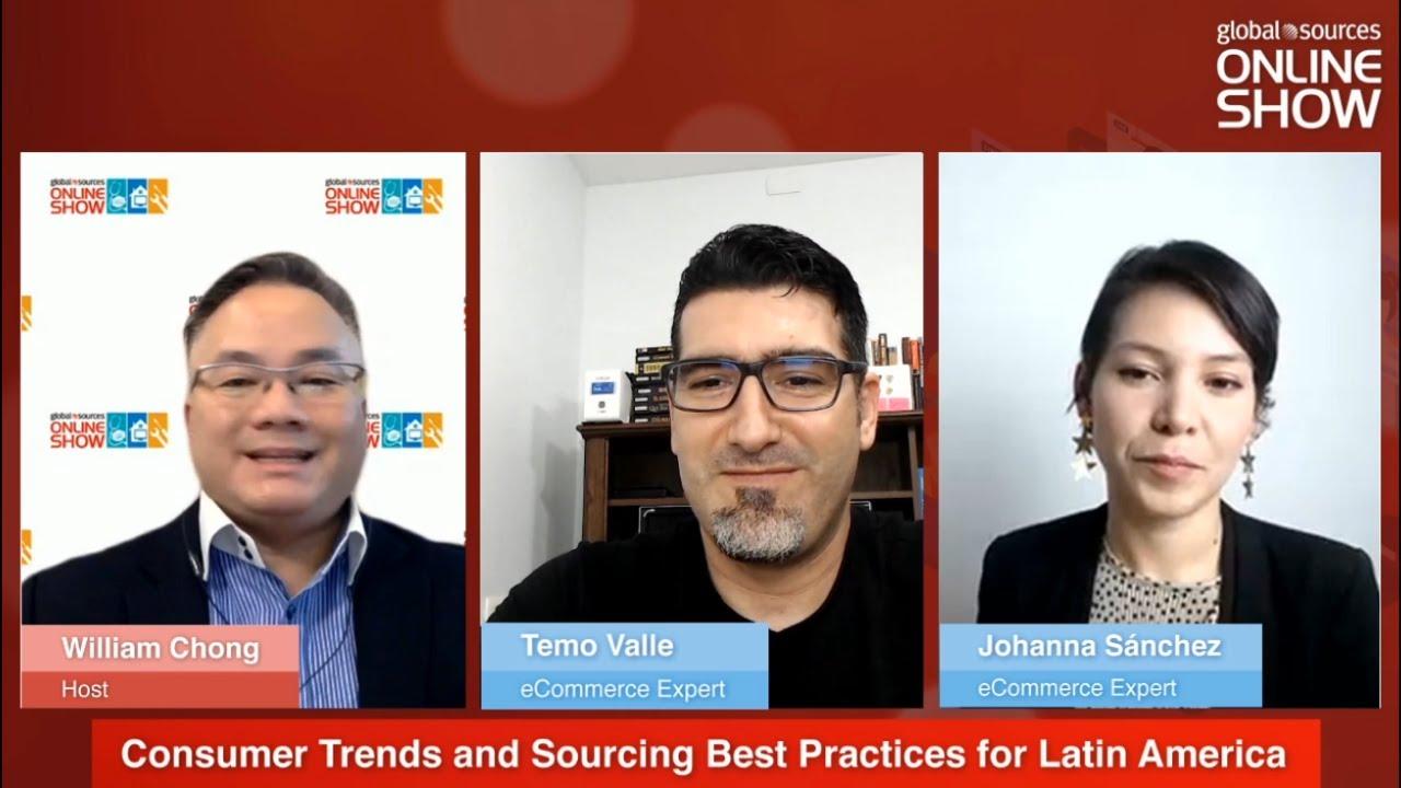 🚀 Tendencias Globales de Ecommerce en América Latina [Panel de Discusión con Global Sources] ✅