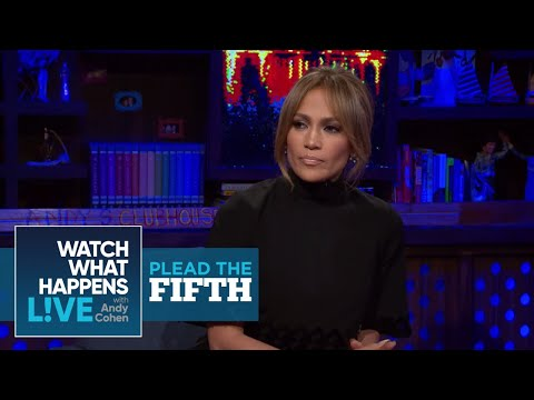 Jennifer Lopez On Her Feud With Mariah Carey | #FBF | Plead The Fifth | WWHL