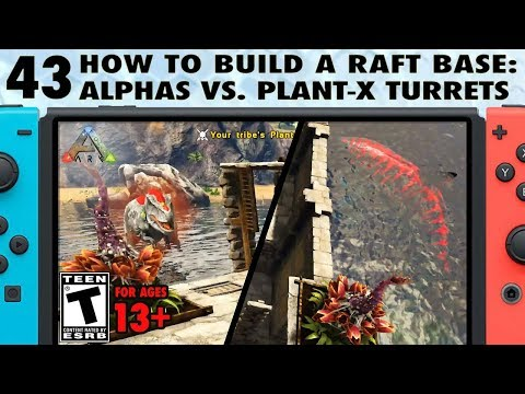 43: Hunting Alphas With Plant Species X Turrets on Ark Switch - The Ark Switch Survival Guide