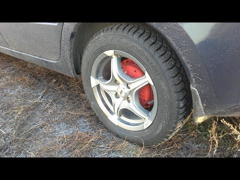 Замена колес на автомобиле Лада Гранта / Гараж 73