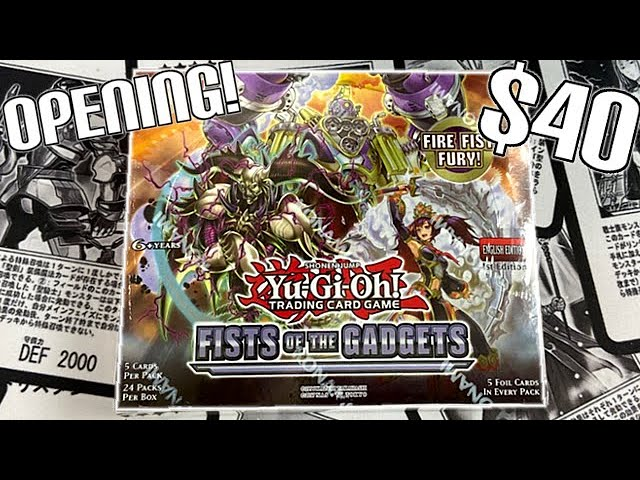 Fists Of The Gadgets Booster Box 1st Edition Konami Yu-Gi-Oh