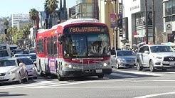 LA Metro Bus: 2004 NABI 45C-LFW Compo Route 780 Rapid Bus #8064 at Hollywood/Highland