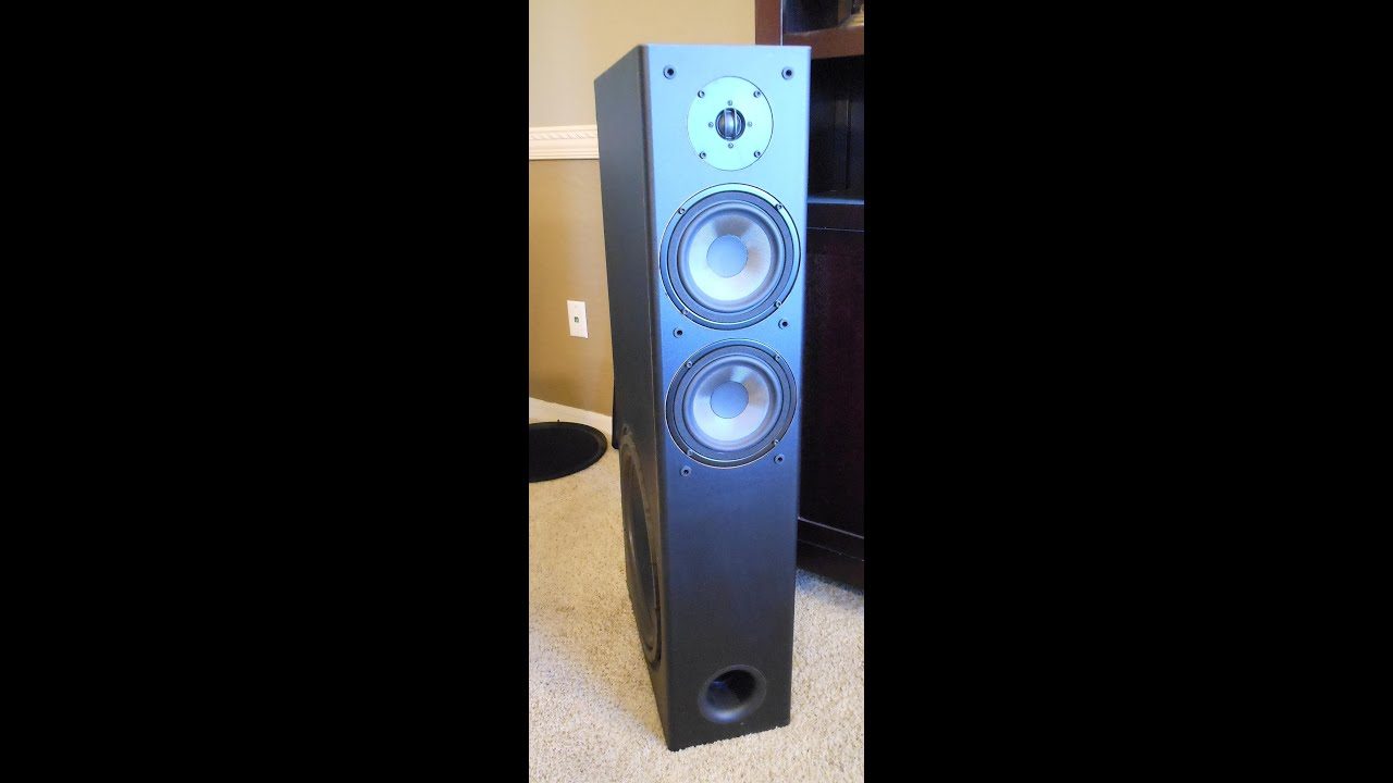 yamaha ns-a1738 tower speaker's - youtube