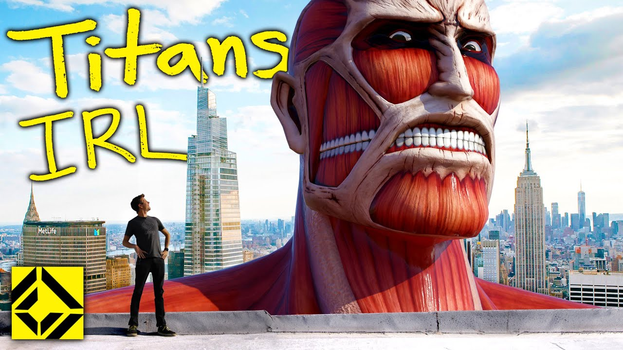 Download VFX Artist Reveals TRUE Scale of Attack on Titan!