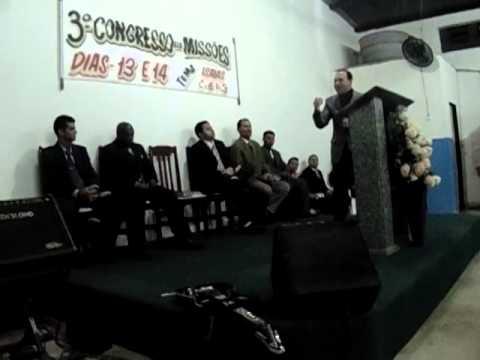 3° Congresso de Missões  Pederneiras SP Wellington Martins