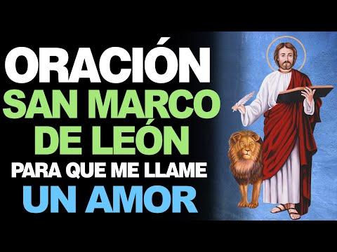 🙏 Oración a San Marcos de León para que me LLAME UN AMOR ❤️