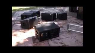 Demostración de Arreglo Lineal ST-112A ELIPSIS en